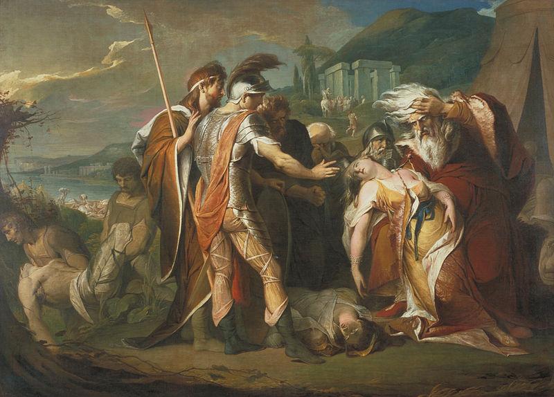 King Lear Weeping